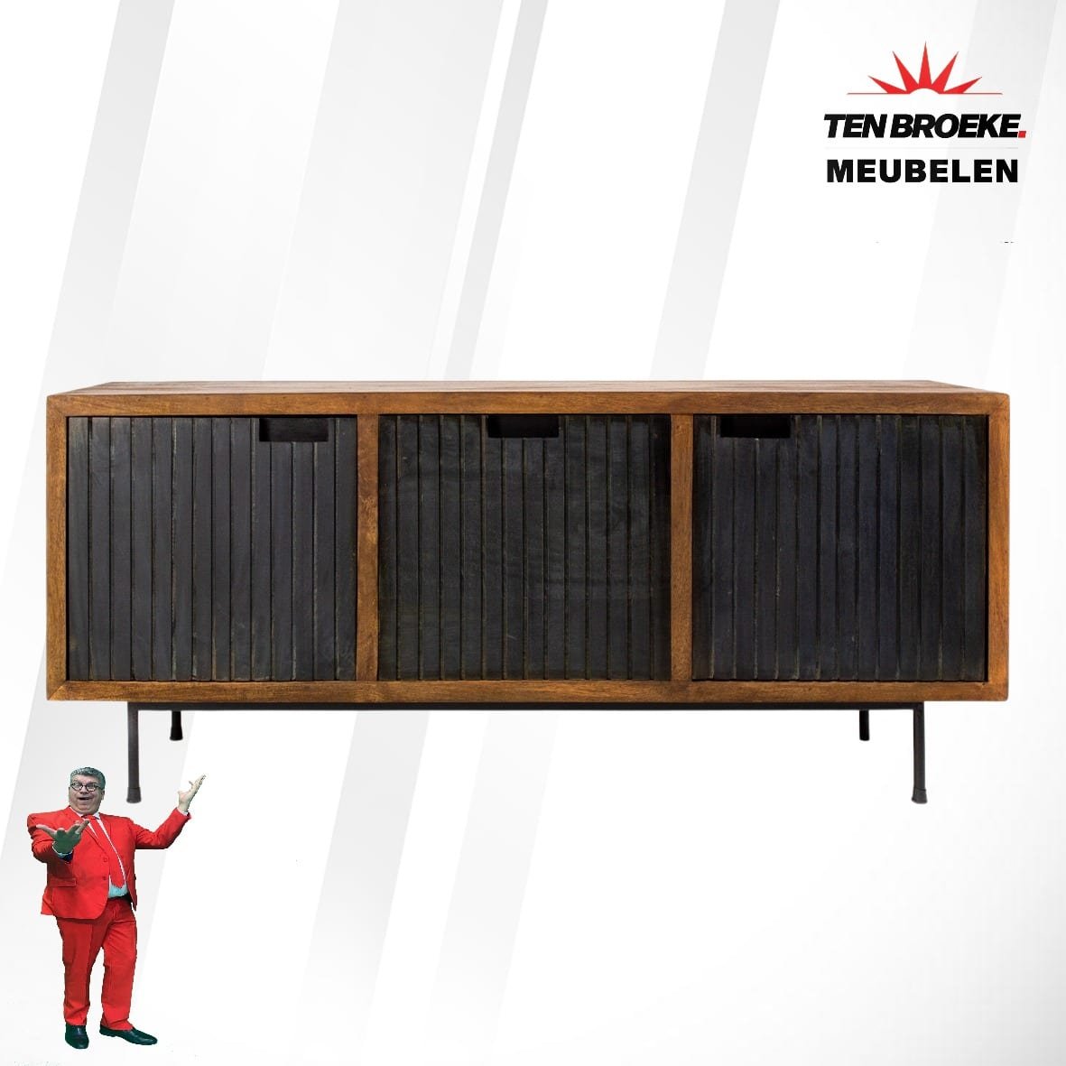 Ten Broeke Meubelen kokomo TV kast 6