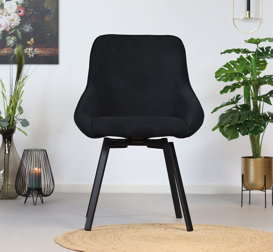 bronx71-horeca-draaibare-stoel-luna-zwart-ribstof (1)