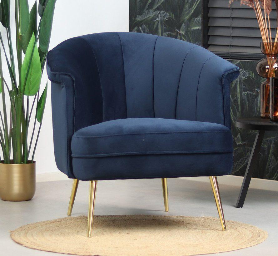 bronx71-fauteuil-amy-donkerblauw-velvet