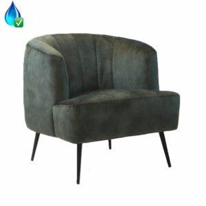 bronx71-fauteuil-billy-donkergroen-velvet