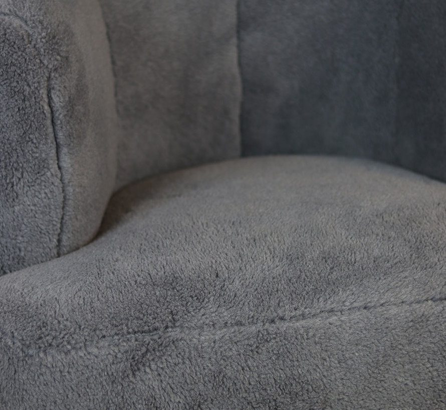 bronx71-fauteuil-billy-grijs-teddy