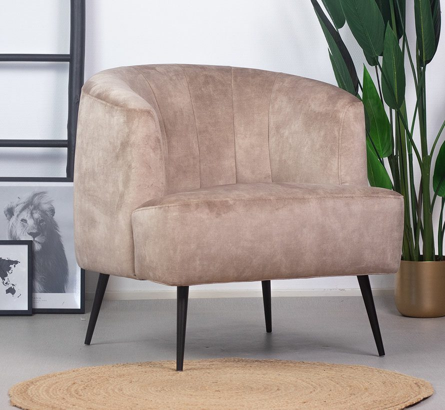 bronx71-fauteuil-billy-taupe-velvet