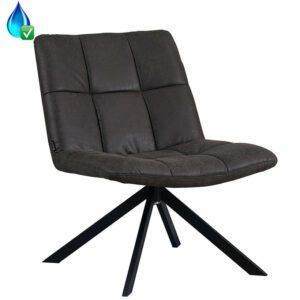 bronx71-fauteuil-eevi-antraciet-eco-leer
