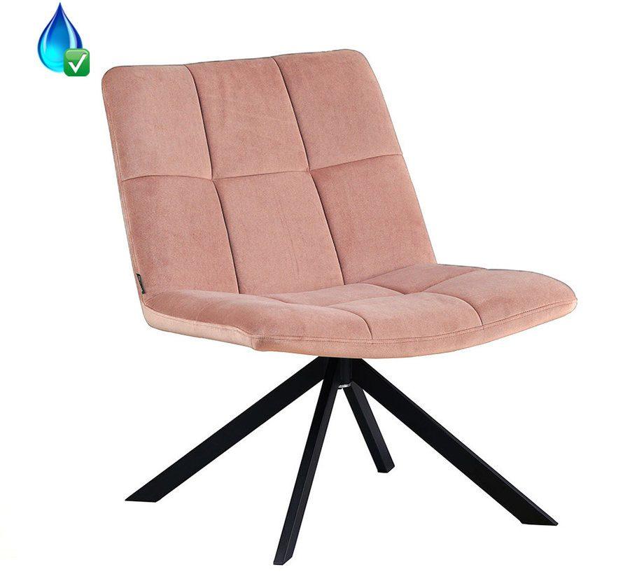 bronx71-fauteuil-eevi-roze-velvet