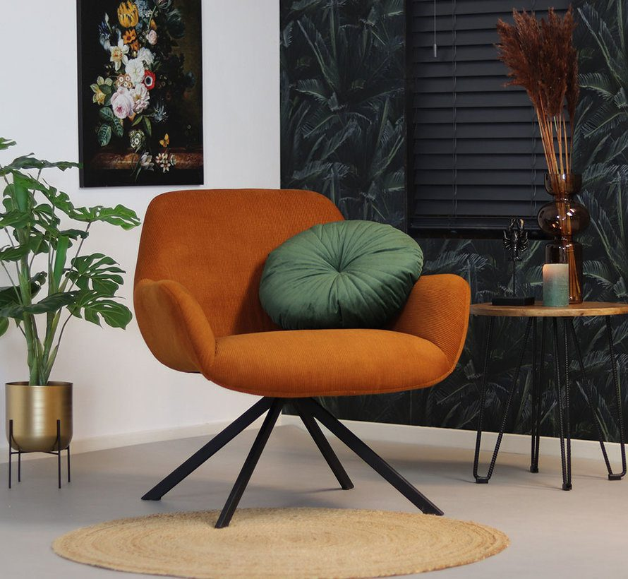 bronx71-fauteuil-emily-koper-ribstof
